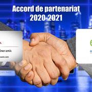 """03/11/20: Accord de partenariat entre notre plateforme """"FR - Tous uniques, tous unis"""" et l'E2C - École de la 2ème Chance, antenne de Creil."""