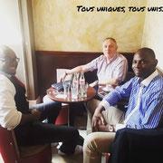 Point avc les 2 vice-présidents le 17/07/18 à Paris.