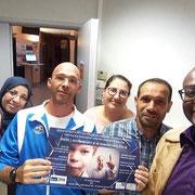 11/09/19: Réunion avec les équipes de la politique de la ville de Compiègne ainsi que les représentantes des mamans de quartier, préparation du forum du 21 septembre
