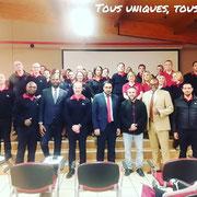 26/11/18: Avec le personnel encadrant de l'Épide - Forum d'inclusion civique FR sur comment aborder une jeunesse tentée par la radicalisation au centre Épide de Margny-lès-Compiègne.