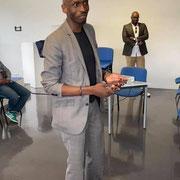 24/07/20: Intervention d'Éro Ngoubili lors du Forum d'Inclusion sociale FR à Mantes-la-Jolie