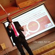 """11/03/19: Forum d'inclusion sociale FR """"Femme capable, femme gagnante"""", ici Rudy Kazi, vice-président de la plateforme FR"""