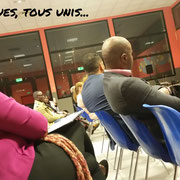 21/09/18: Lors de notre forum d'inclusion sociale à Grigny