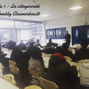 13/02/19: Forum d'inclusion sociale FR - Module 1: La citoyenneté avec Freddy Clairembault.