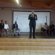 25/06/18: Intervention de monsieur Daniel Robin, conseiller territorial Martinique, lors de notre forum d'inclusion sociale au centre Epide de Margny-lès-Compiègne.