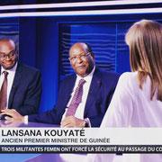 11/11/18: Intervention d'Abel Boyi et Lansana Kouyaté (ancien 1er ministre de la République de Guinée) sur RT France. Sujet: Les enjeux diplomatiques des commémorations du centenaire de l'armistice - Paris 2018.