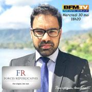 30/05/18: Notre délégué départemental Seine-Saint-Denis (93), monsieur Asif Arif, expert sur les questions de laïcité, sera sur BFM TV ce jour à 18h20 pour parler de radicalisation et de l'Islam.