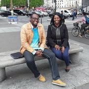 01/06/18: Avec madame Amina Bacar, adjointe au Maire d'Avon (77) déléguée à la vie associative et à la petite enfance.  Des échanges forts intéressants autour de la jeunesse, la citoyenneté et plus globalement l'humain dans la société française.