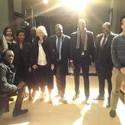 09/03/18: Avec l'ensemble des intervenantes de la conférence et l'équipe de l'association ACADOM.
