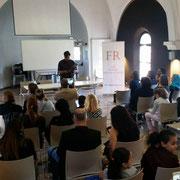 """15/10/17 Forum d'inclusion civique de la plateforme """"FR - Les Forces Républicaines"""" à l'espace Aimé Césaire à Clichy-la-Garenne."""