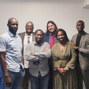 """24/07/20: Avec Aïssatta Anne de l'association """"Coeur du Fouta"""" qui a accueilli le Forum d'Inclusion sociale FR à Mantes-la-Jolie"""
