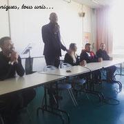 13/02/19: Forum d'inclusion sociale FR - Début de la session de l'après-midi avec Marcos Céraà, Rose Améziane et Rafik Arabat.