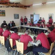 25/06/18: Les modules du forum sont en place. Module 1: Les métiers du sport avec Vivien Boyi Banga (entrepreneur sport) / Pierre Mbas (Diembars Arena) / Mamadou Mané (Sat-Élites football).