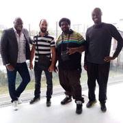 """10/09/19: Réunion avec l'équipe """"Lapelcha/Paris Basket 18"""", préparation d'un prochain forum d'inclusion sociale autour de l'éducation par le sport."""