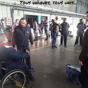 21/11/18: Forum d'inclusion sportive - Initiation à l'haltérophilie handisport avec le champion de France et d'Europe, Rafik Arabat.