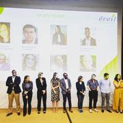 29/05/19: Le jury du prix Éveil. Abel Boyi, président de la plateforme FR, en était membre.