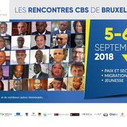 """02/09/18: Le président de la plateforme """"FR - Les Forces Républicaines"""" interviendra au parlement européen à Bruxelles le mercredi 5 septembre 2018 sur les questions des défis migratoires de la jeunesse entre la France et l'Afrique."""