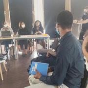 26/09/20: Forum d'inclusion sociale FR à Avon (77): Les défis de la jeunesse face au décrochage scolaire