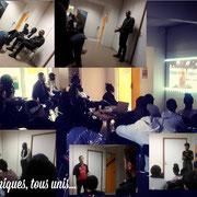 """04/05/18:  Forum d'inclusion sociale FR ayant pour thème """"Une jeunesse devant la sensibilisation du handicap"""" à la """"Fabrique"""" à Longjumeau (91)."""