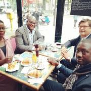 """13/06/19:Excellente journée au lancement de la """"Grande équipe de la réussite républicaine""""... Avec le député de la 3ème circonscription de Seine-Saint-Denis, Patrice Anato."""
