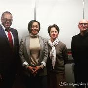 """16/01/19: Accord de partenariat entre la plateforme citoyenne et apolitique """"FR - Les Forces Républicaines"""" et le Lycée général, technologique et professionnel Condorcet de Montreuil (93)."""