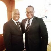 08/10/19: Rencontre à Paris avec Monsieur Youssouf Fofana, Conseiller spécial du Président de l'Assemblée Nationale de la Côte d'Ivoire, chargé de la diplomatie parlementaire