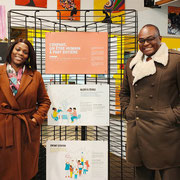 """20/11/19: À Avon (77) ce jour avec notre partenaire, Madame Amina Bacar (élue de la ville) à la """"Maison des jeunes"""", un super outil pour la jeunesse avonaise doté d'une équipe d'encadrants très engagés 👍  Préparation d'un projet citoyen intéressant..."""
