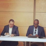 05/05/19: Avec Monsieur Bruno Benjamin, président du CRIF section Marseille - Provence.
