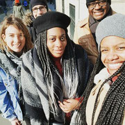 """24/02/18: Maraude solidaire avec l'équipe de l'association """"Espoir""""."""