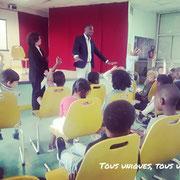 15/06/18: Intervention citoyenne au collège Georges-Politzer à Montreuil (93) auprès de bambins tout mignons de maternelle (issus de l'école Daniel-Renoult).