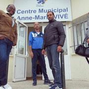 04/10/19: Photo de l'article du Parisien sur notre action d'accompagnement des parents à Compiègne