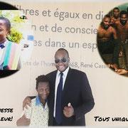 Sortie du TGI de Paris. Décision favorable pour le jeune Sylvain qui peut rester légalement sur le territoire français.