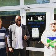 """03/07/19: Mise en place d'un partenariat avec le mouvement associatif """"Vie Libre"""", mouvement qui accompagne les personnes sujettes à des addictions"""