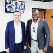"""19/06/19: Avec monsieur Bruno Benjamin, président du CRIF section """"Marseille-Provence"""". Mise en place d'un partenariat avec la plateforme """"FR - Les Forces Républicaines"""""""