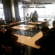 13/02/19: Forum d'inclusion sociale FR - Module 2: Relations hommes/femmes avec Dorice Léopoldie.