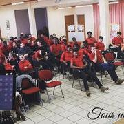 """11/03/19: Forum d'inclusion sociale FR """"Femme capable, femme gagnante"""", ici Abel Boyi, président de la plateforme FR"""