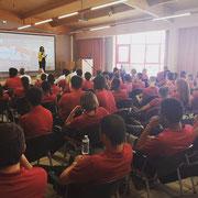 17/06/19: Lors de notre forum d'inclusion sociale sur les défis de la jeunesse face aux addictions au centre EPIDE de Margny-lès-Compiègne.