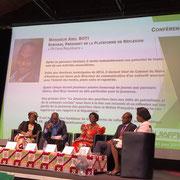 23/06/18: Je suis intervenu ce jour à la conférence-débat organisée par l'UIAFFIF sur la thématique de l'autonomisation, l'intégration et la valorisation de la femme africaine de France. Un moment très fort humainement.