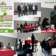"""Intervention du vice-président, monsieur Rudy Kazi à la rencontre citoyenne organisée par l'association """"Les branches de l'espoir"""" le 02/12/17."""