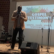 """24/02/18: Intervention lors du programme jeunesse autour du gospel, la """"Gospel Testimony"""" à Lille (59) organisé par l'association FCDJ (Forum Chrétien de la jeunesse)."""