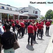 25/06/18: Rassemblement des jeunes pour la Marseillaise ensuite on attaque notre forum. 😁😁😁