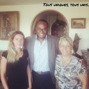 """Avec madame Latifa Bennari, présidente de l'association """"L'Ange Bleu"""", experte sur les questions de pédophilie, d'éphébophilie et d'hébéphilie le 15/08/18. Mise en place d'un partenariat."""