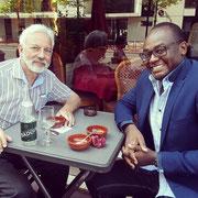 25/05/18: Ce jour avec Monsieur Simon Midal, Président de la LICRA (Ligue Internationale contre le Racisme et l'Antisémitisme) section Hauts-de-Seine (92) et de l'Automobile Club Association section Paris (75).