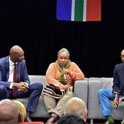 """12/10/18: Conférence débat sur le thème """"Les enseignements de l'expérience démocratique Sud-Africaine"""" avec Rudy Kazi et Marianne Séverin (spécialiste de l'Afrique du Sud à Sciences-Po Bordeaux)"""