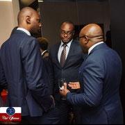 15/05/19: échange avec Elie Nkamgueu, président du Club Efficience cérémonie de remise des bourses d'excellence 2019 au siège de Canal +