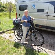 erste Tour mit dem E-bike