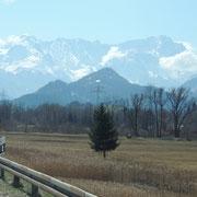 Bei Garmisch-Partenkirchen