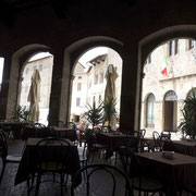 unser Lokal an der Piazza Garibaldi