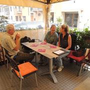 Mittagessen in der Trattoria d`i Borgo