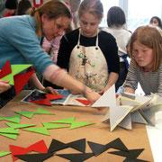 """""""Mathematik in Bildern"""" Skulpturprojekt Bildschule Kopenhagen 2005"""
